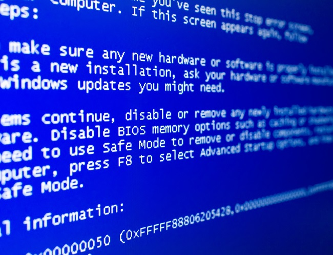 3 Things You Need to Do ASAP When You See a Blue Screen of Death