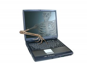 Skeleton hacker.